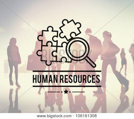 Human Resources Hiring Employement Contact Concept