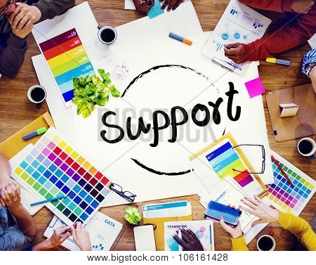 Support Service Help Assistance Guidance Concept