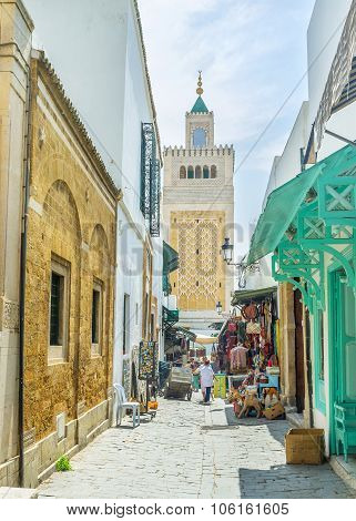 The Narrow Medina Street