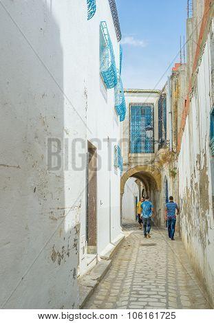 Inside Of Medina