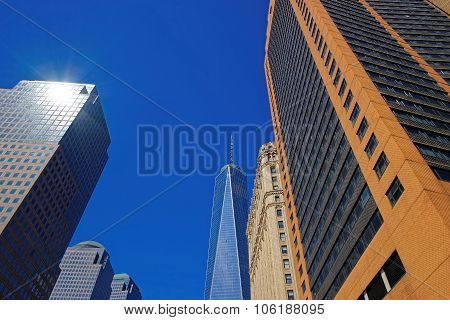 Freedom Tower In Lower Manhattan, Nyc