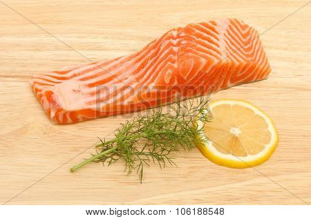 Sea Trout And Lemon