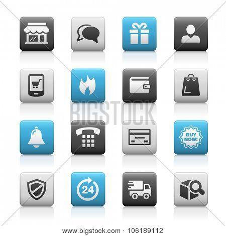 E-Shopping Icons // Matte Series