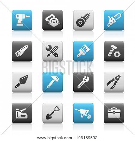Tools Icons // Matte Series