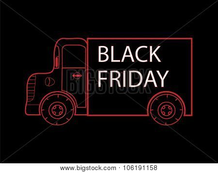 Black Friday truck goods closeout sale