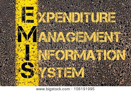 Business Acronym Emis As Expenditure Management Information System