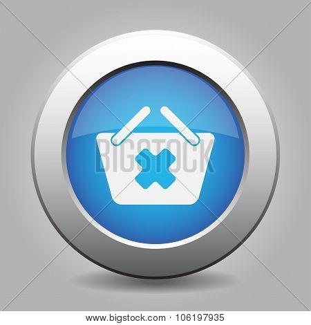 Blue Button - Shopping Basket Cancel