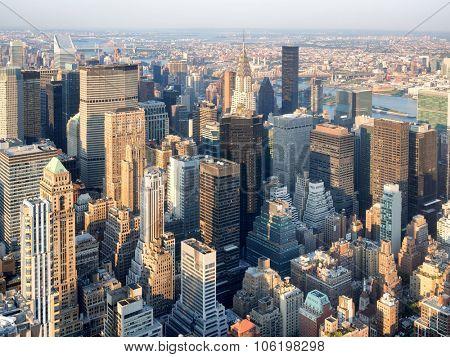 Skyscrapers at midtown Manhattan in New York City