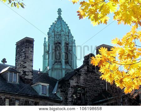 Toronto University Trinity College Autumn 2015