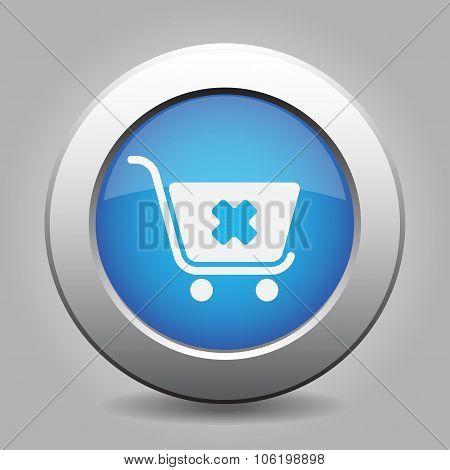Blue Button - Shopping Cart Cancel
