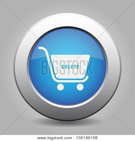 Blue Button - Shopping Cart Delete