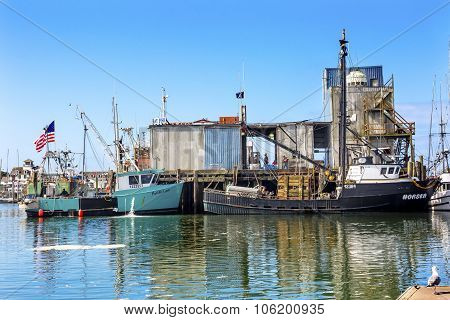 Fishing Processor Westport Grays Harbor Washington State