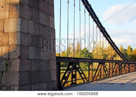 The suspension bridge
