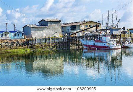 Processor Fishing Boat Westport Grays Harbor Washington State