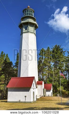 Grays Harbor Lighthouse Maritime Museum Westport Washington State