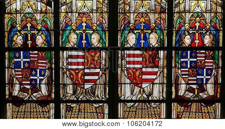 Stained Glass - Cathedral Of Tours
