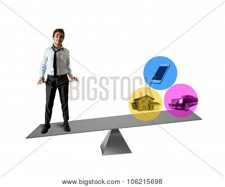 Life and economy balance