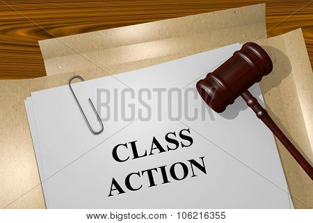 Class Action Concept