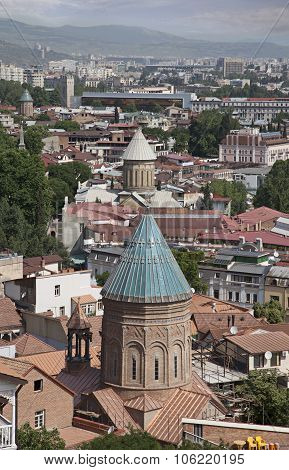 Roofs Of Old Tbilisi