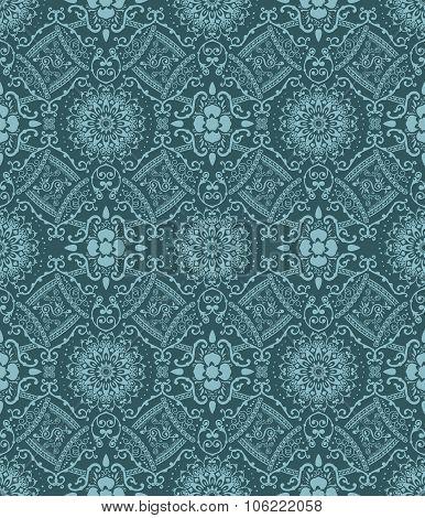 Seamless elegant Ornamental pattern
