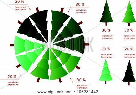 New Year/christmas Info Graphics