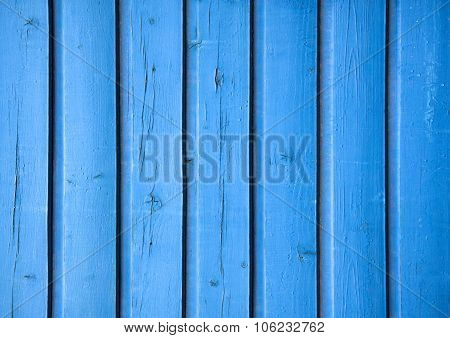 blue wood board texture. background blue boards.
