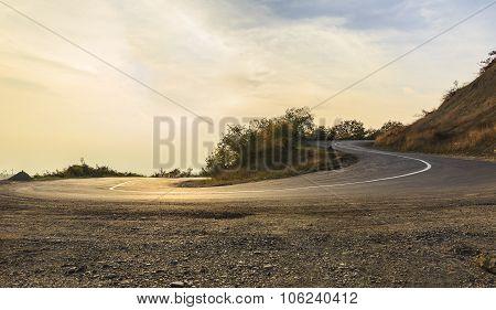 Ahsu Pass In Azerbaijan