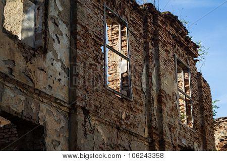 Ruined House Wall