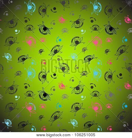 Abstract Funny Background vector royalty free stock illustration