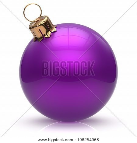 New Year's Eve Christmas Ball Bauble Wintertime Decoration