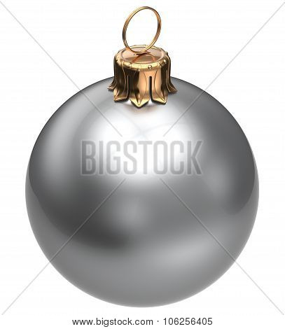 Christmas Ball White New Year's Eve Bauble Xmas Decoration