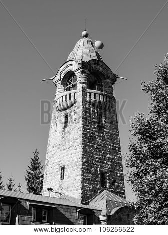 Cerna Studnice lookout tower