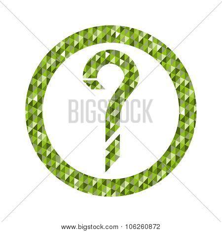 Geometric Question Mark