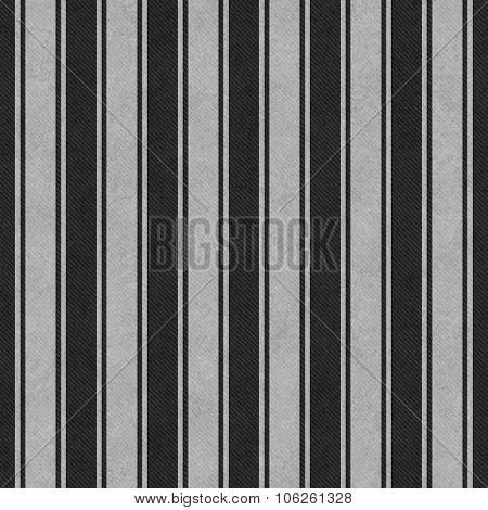 Gray And Black Striped Tile Pattern Repeat Background