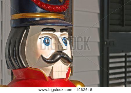 Vintage Wooden Toy Soldier 2
