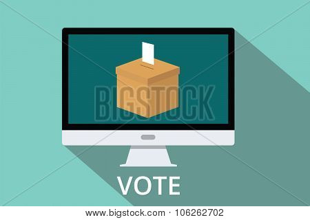 online vote box