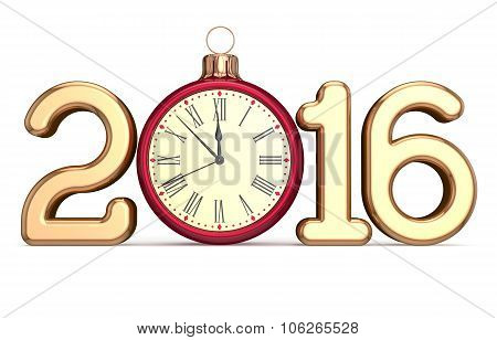 New 2016 Year's Eve Alarm Clock Christmas Ball Countdown