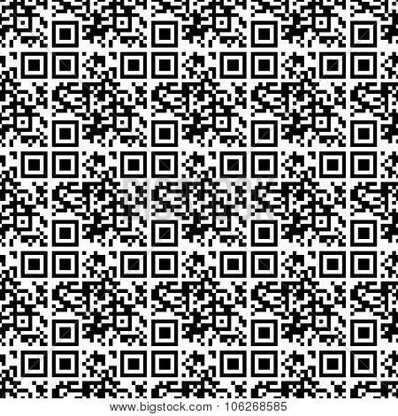 Seamless Pattern Qr Code