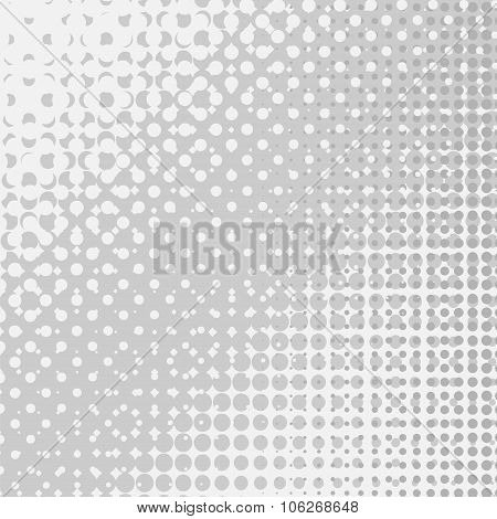 Halftone Patterns. Dotted Background