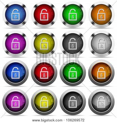 Unlock Button Set