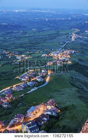 Vista From San Marino