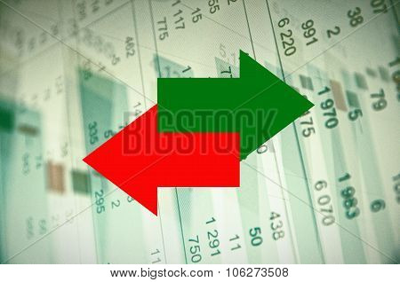 Stock market activity