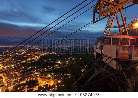 Funicular In San Marino