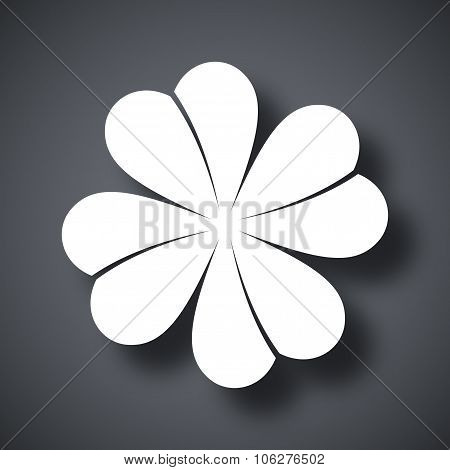 Vector Four-leaf Clover Icon