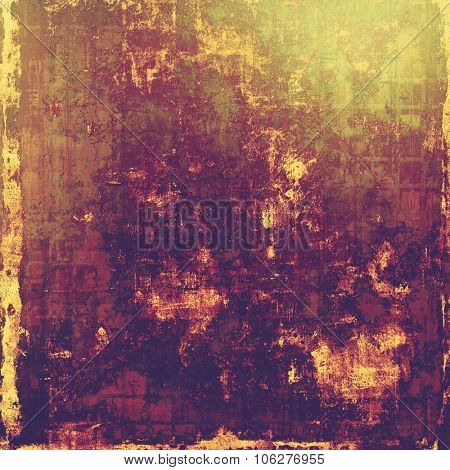 Old style detailed texture - retro background with space for text or image. With different color patterns: yellow (beige); brown; purple (violet); pink