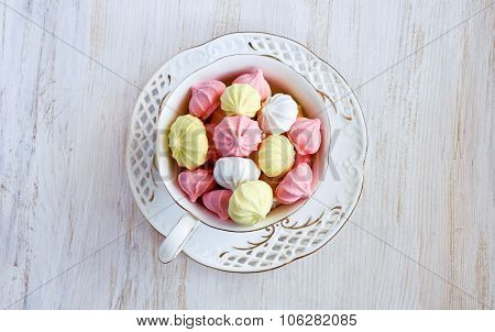 Colored Meringue