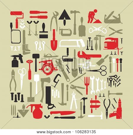 Set building tools