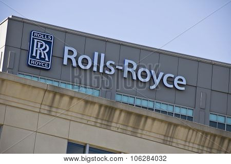 INDIANAPOLIS - CIRCA OCTOBER 2015: Rolls-Royce Corporation Indianapolis IN I