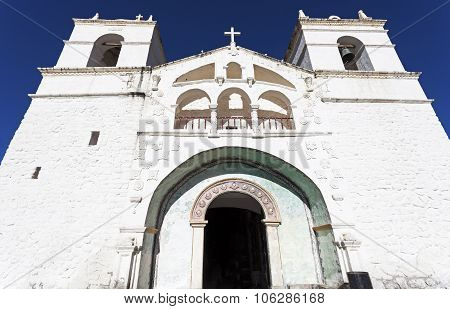 Maca Church In Colca Canyon