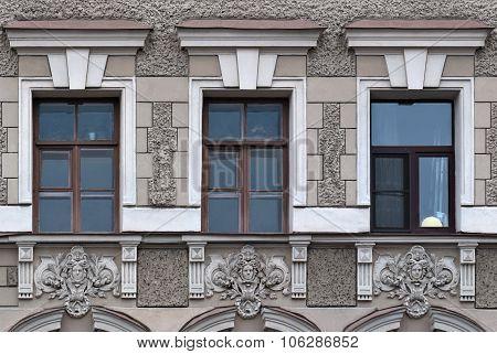 Building's facade.